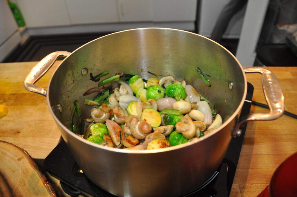 High Protein Vegan Stew